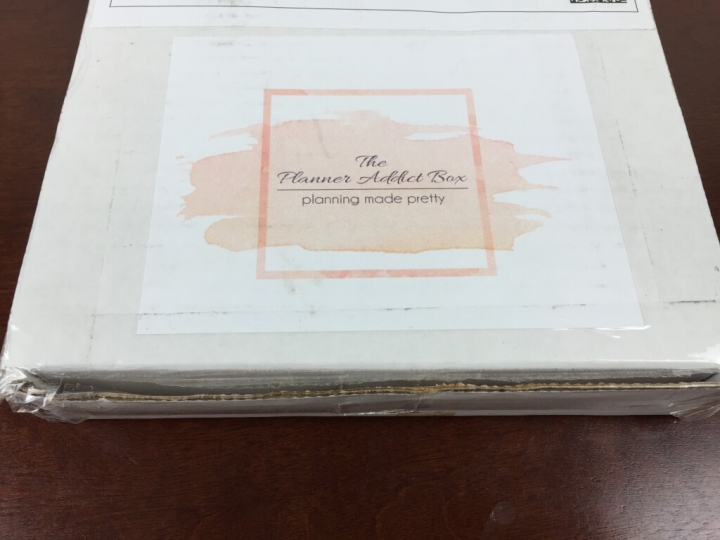 planner addict box august 2015 box