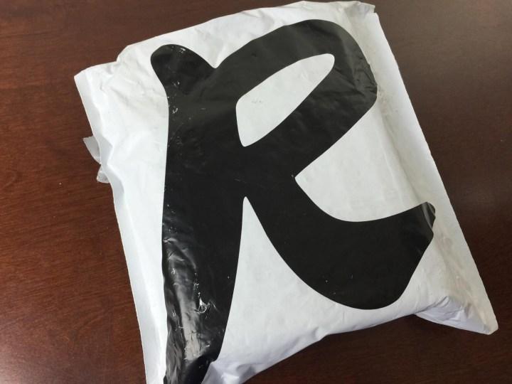 rocksbox september 2015 bag