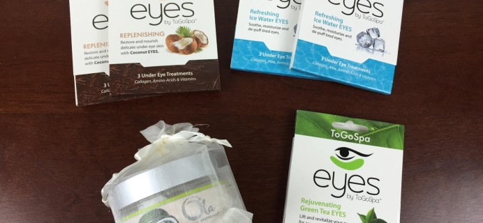 ToGoSpa Society Subscription Review + Coupons – August 2015