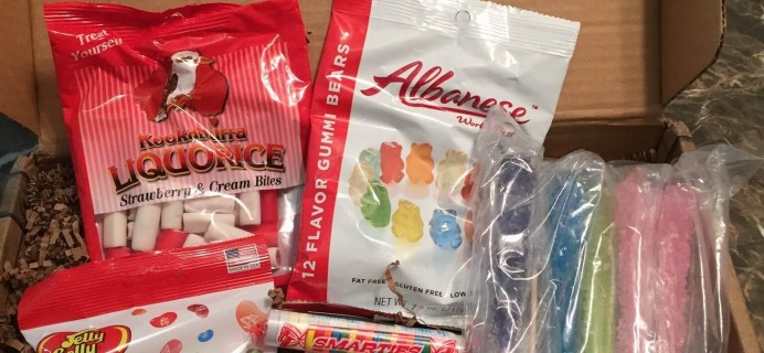 Treat Chest Candy Subscription Box Review & Coupons – August 2015