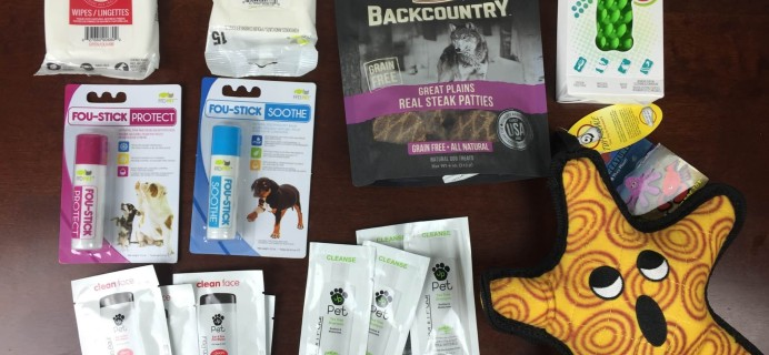August 2015 True Drool Big Dog Subscription Box Review + $15 Coupon