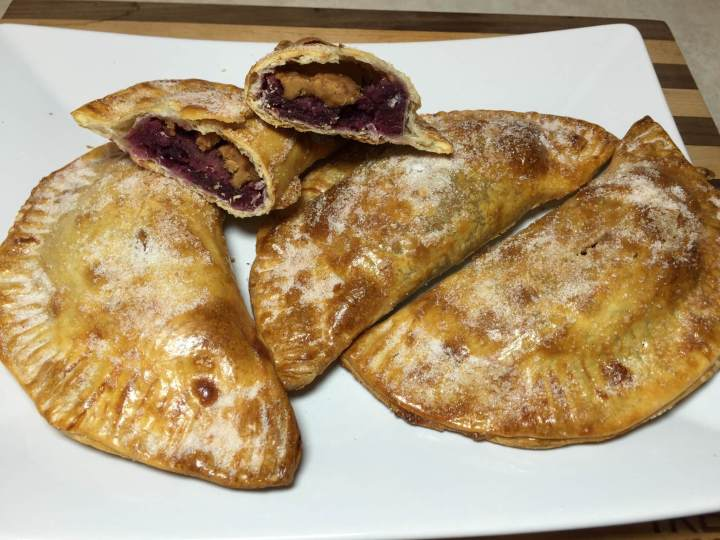 Concord Grape and Peanut Butter Hand Pies