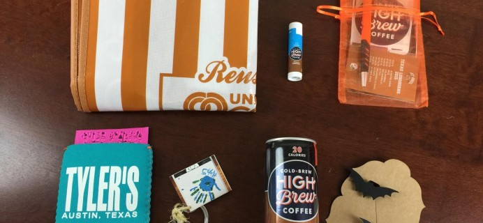 Austin Bat Box Subscription Box Review & Coupon – September 2015