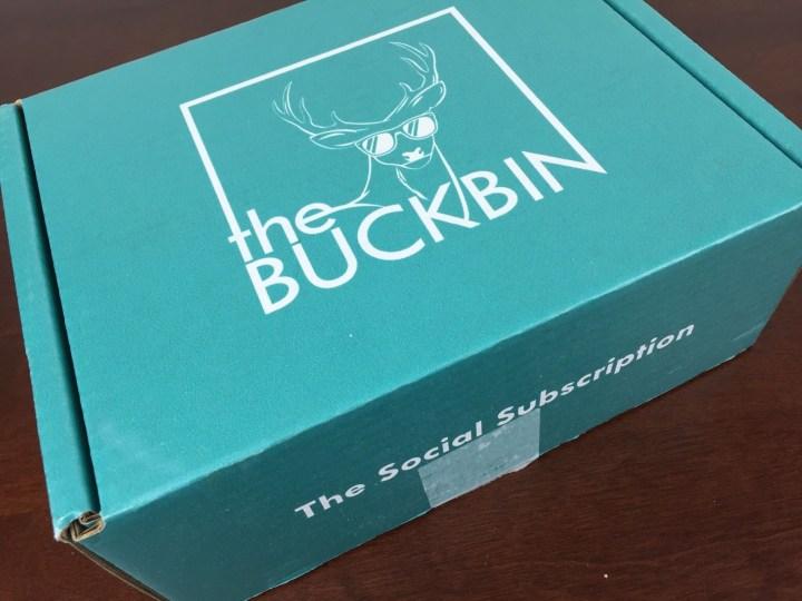 buckbin september 2015 box
