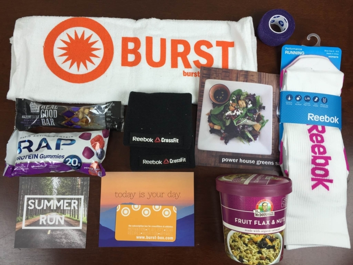 burst box august 2015 review