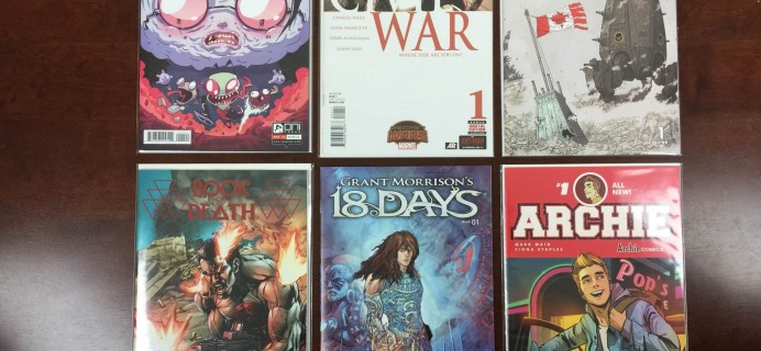 ComicBoxer Subscription Box Review – August 2015