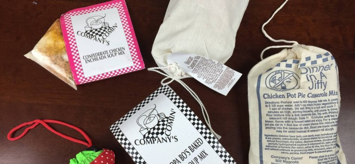 Company's Comin' Subscription Box Review – August 2015