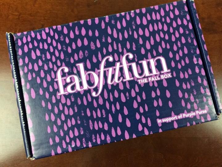 fabfitfun vip box fall 2015 box