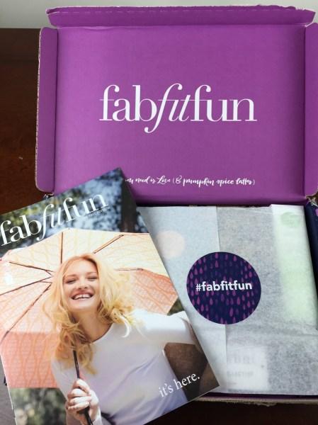 fabfitfun vip box fall 2015 unboxing