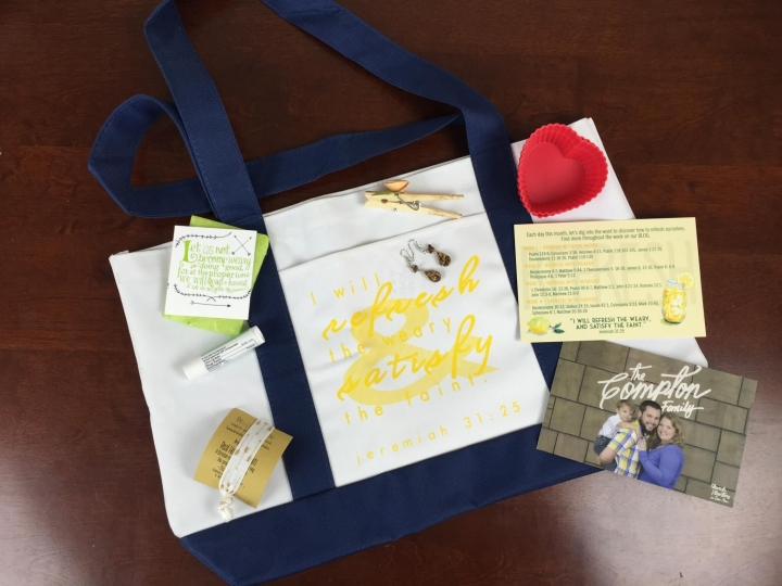 filled life box august 2015 review