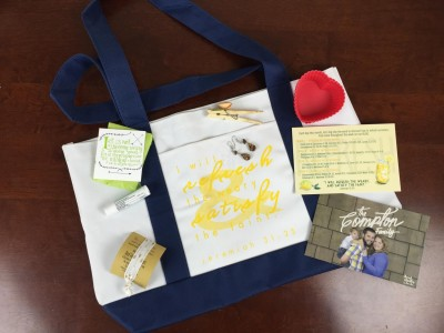 Filled Life Christian Subscription Box Review – August 2015