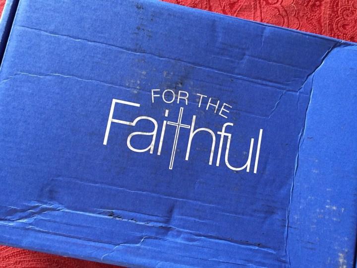 for the faithful august 2015 box