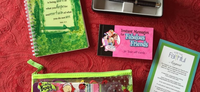 For the Faithful Christian Subscription Box Review &  Coupon – August 2015