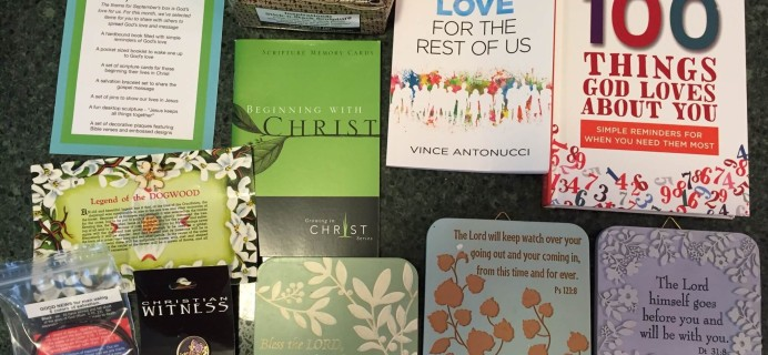 For the Faithful October 2015 Subscription Box Review &  Coupon