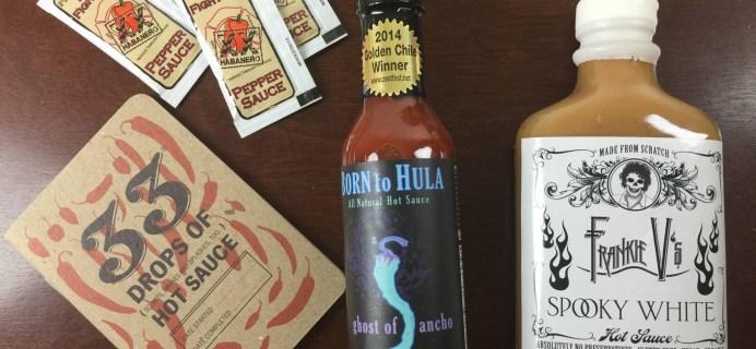 Fuego Box Hot Sauce Subscription Box Review + Coupon – Intro Box