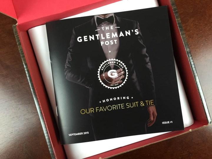 gentlemans box september 2015 unboxing