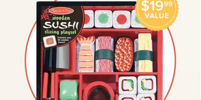 Citrus Lane 20% Off & Free Melissa & Doug Sushi Slicing Set! (Today Only?)