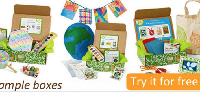 Green Kid Crafts Full-Sized Free Trial Box Deal!