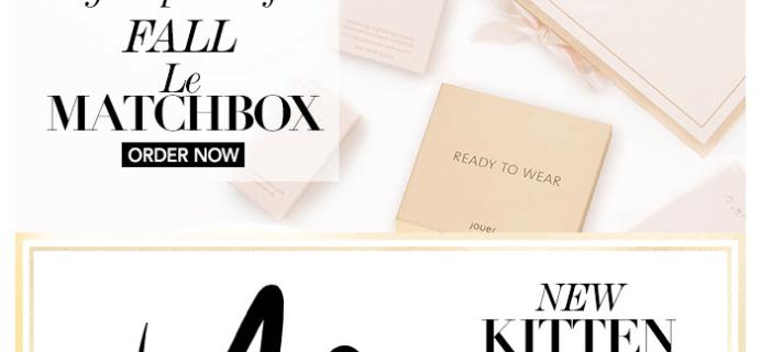 Jouer Fall 2015 Le Matchbox Spoilers