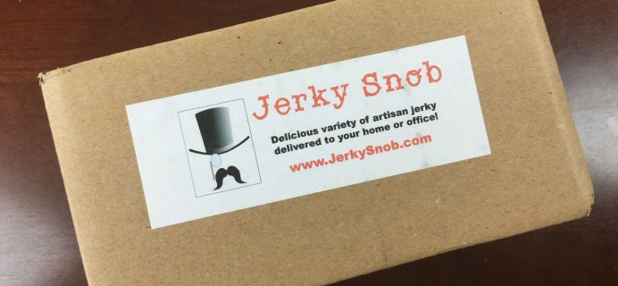 Jerky Snob Subscription Box Review – August 2015