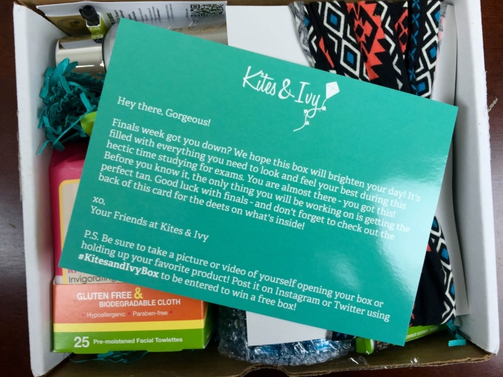 kites and ivy finals survival 2015 unboxing