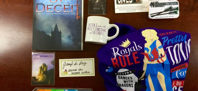 Lit-Cube Book Subscription Box Review – September 2015
