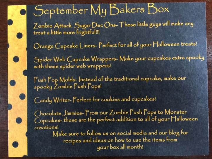 my bakers box september 2015 IMG_9943