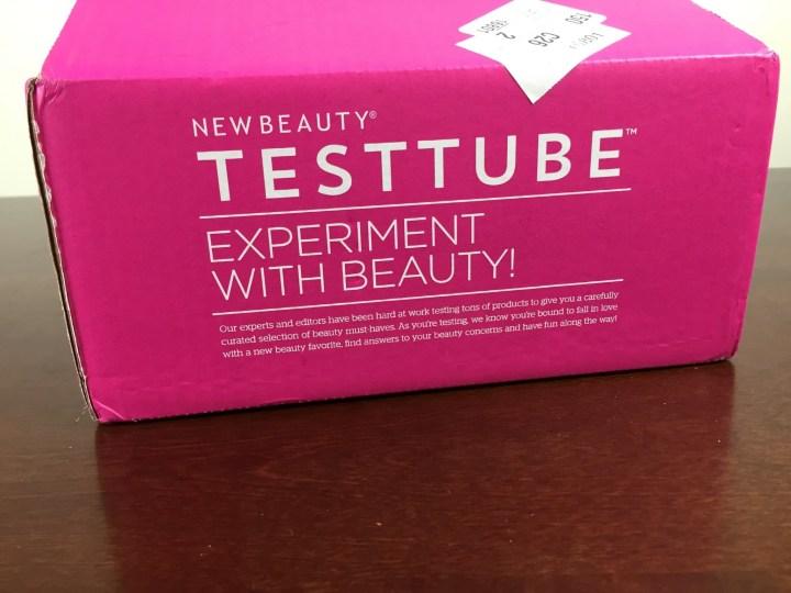 new beauty test tube september 2015 box