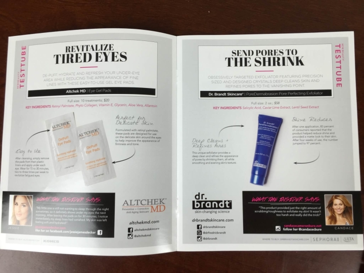 new beauty test tube september 2015 information