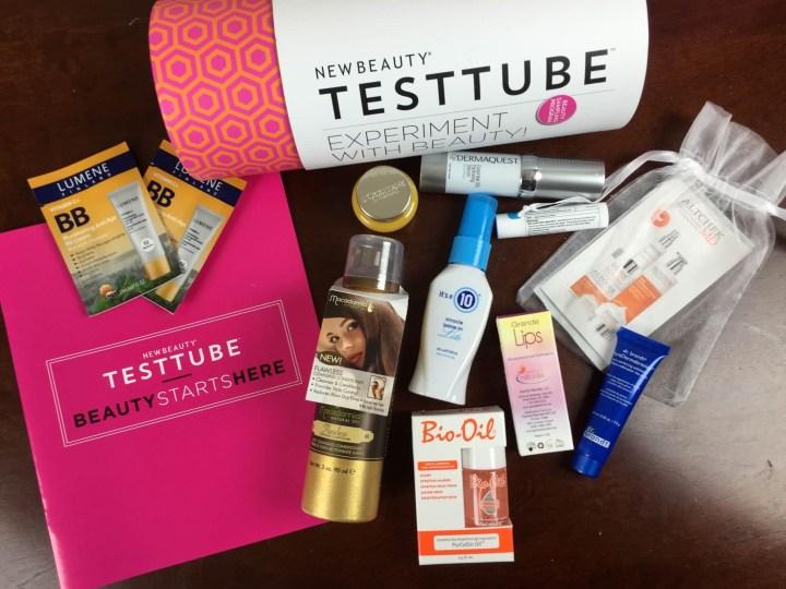 new beauty test tube september 2015 review
