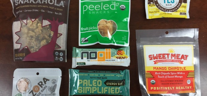 Paleo Life Box Review + Coupon – September 2015