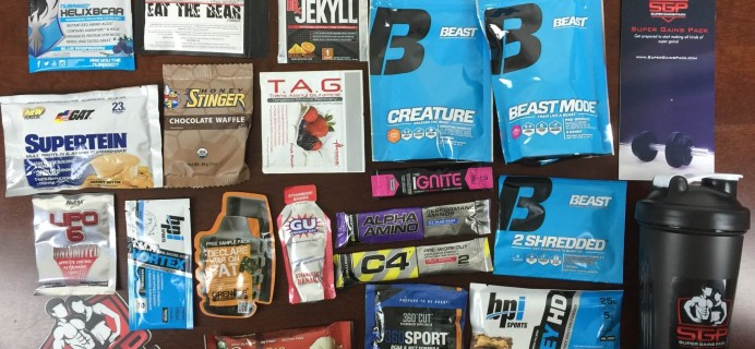 Super Gains Pack Workout Supplement Subscription Box Review & Coupon – August 2015