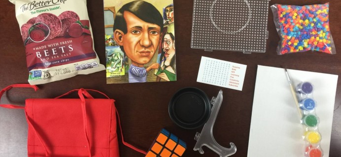 September 2015 Surprise Ride Subscription Box Review + Coupon Code