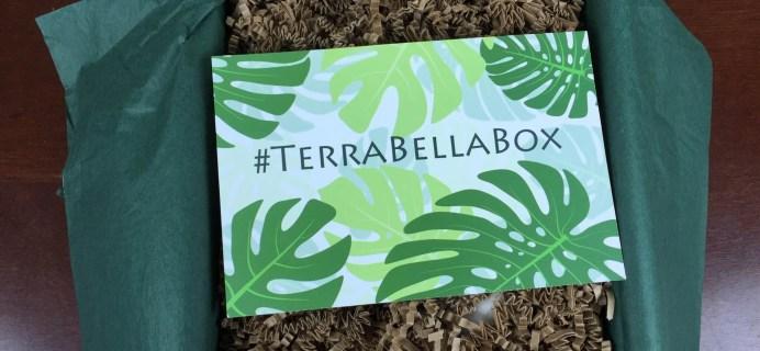 Terra Bella Box Review – September 2015 – Natural Beauty Subscription Box