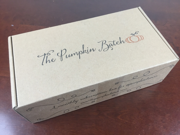 the pumpkin batch september 2015 box