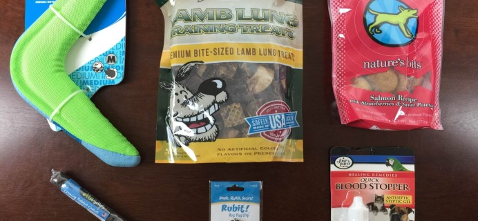 True Drool Big Dog Subscription Box Review + $15 Coupon – September 2015