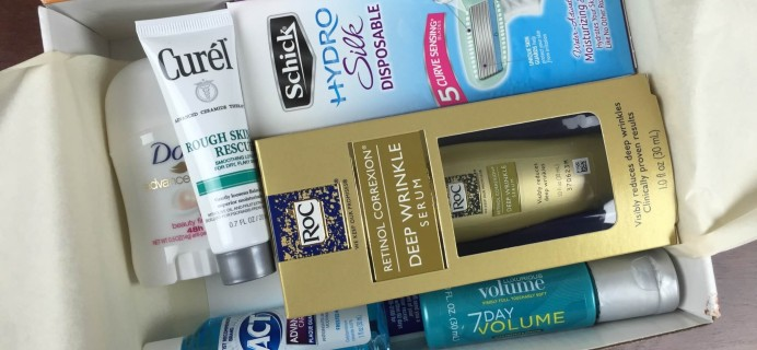 September 2015 Walmart Beauty Box Review – Fall Box