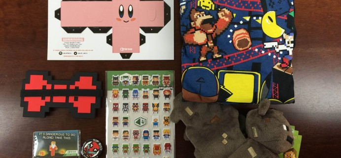 1Up Box September 2015 Subscription Box Review + Coupon + October 2015 Spoilers