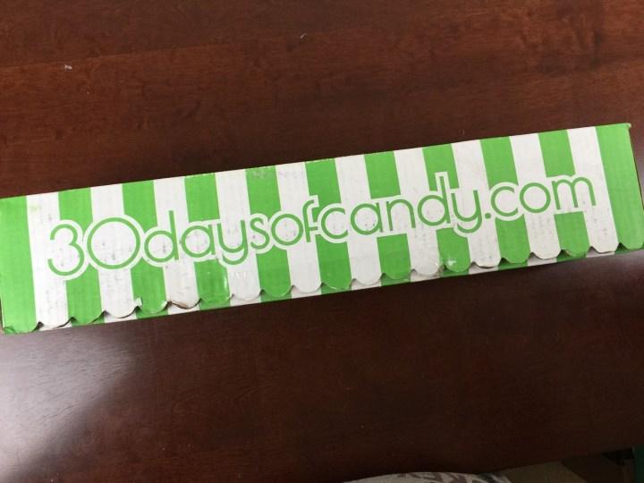 30 days of candy iron curtain box box