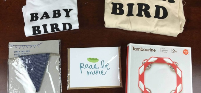 September 2015 A Little Bundle Baby + Toddler Subscription Box Review + Coupon