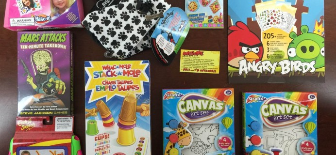 Awesome Pack Subscription Box Review – September 2015