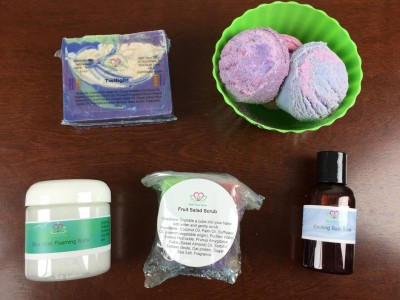 Bath Time Box Subscription Box Review + Coupon – August 2015
