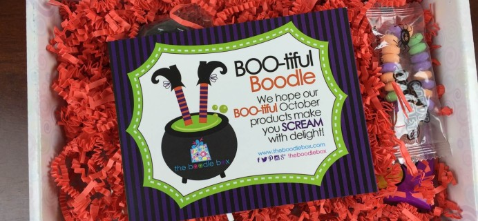 Boodle Box Subscription Box Review – October 2015