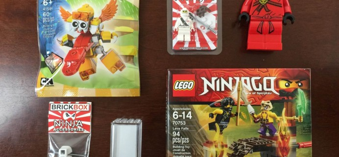 BrickBox September 2015 Subscription Box Review