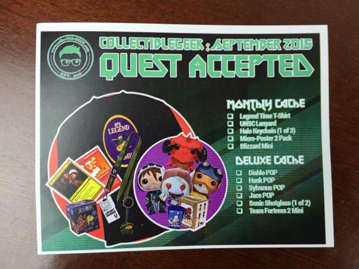 collectible geek september 2015 IMG_1147