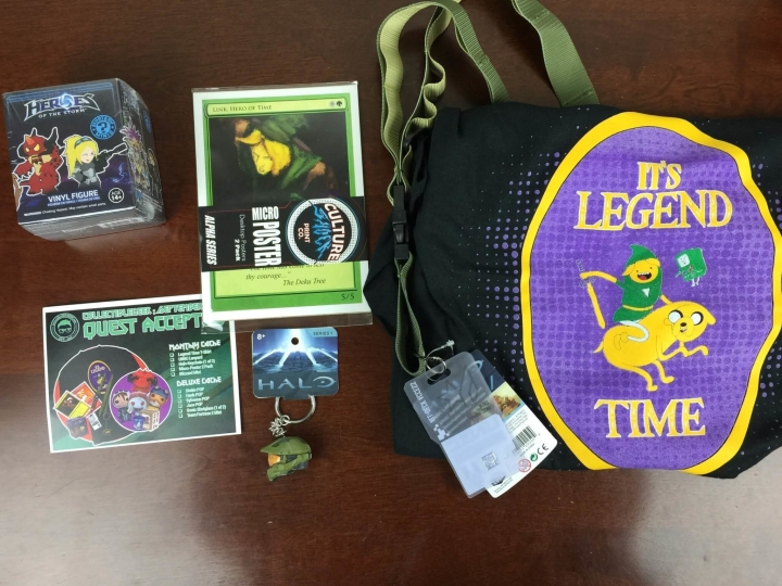 collectible geek september 2015 review