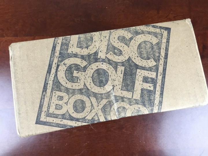disc golf box september 2015 box