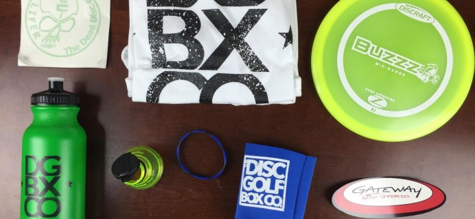 Disc Golf Box Co Subscription Box Review & Coupon – September 2015
