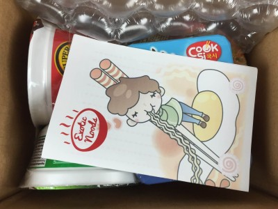 Exotic Noods Ramen Subscription Box Review & Coupon – September 2015