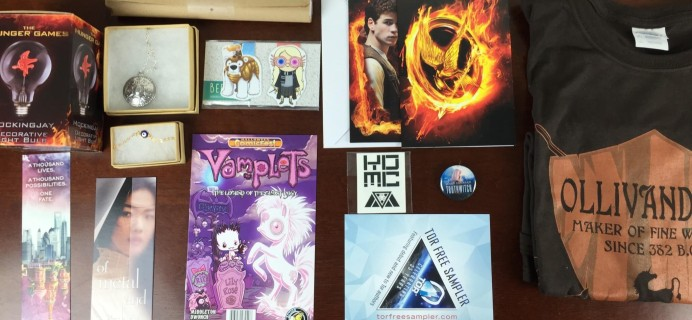 October 2015 FanMail Subscription Box Review